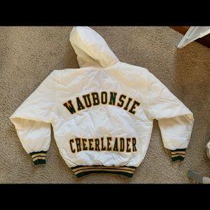 Vintage cheerleading jacket